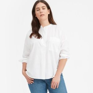 Everlane Soft Cotton Popover Shirt, 12